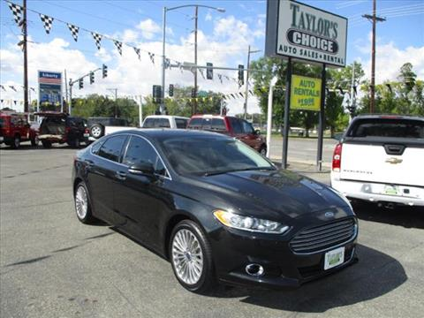 2015 Ford Fusion for sale in Billings, MT