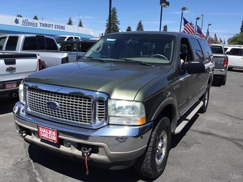 2002 Ford Excursion for sale in Coeur D Alene, ID