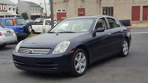 2004 Infiniti G35 for sale at Centre City Imports Inc in Reading PA