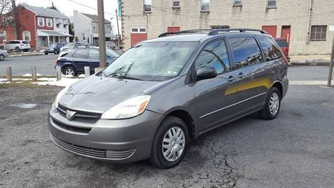 2005 Toyota Sienna for sale at Centre City Imports Inc in Reading PA