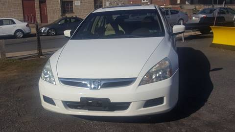 2006 Honda Accord for sale at Centre City Imports Inc in Reading PA