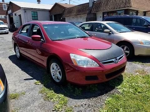 2007 Honda Accord for sale at Centre City Imports Inc in Reading PA