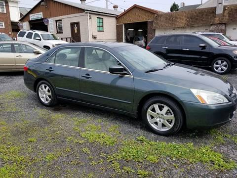 2005 Honda Accord for sale at Centre City Imports Inc in Reading PA
