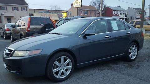 2004 Acura TSX for sale at Centre City Imports Inc in Reading PA