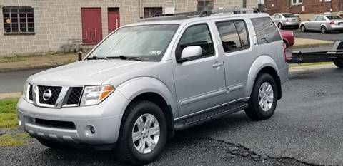 2005 Nissan Pathfinder for sale at Centre City Imports Inc in Reading PA