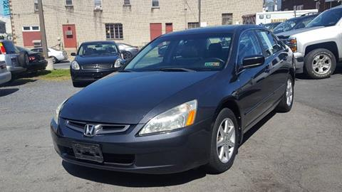 2003 Honda Accord for sale at Centre City Imports Inc in Reading PA