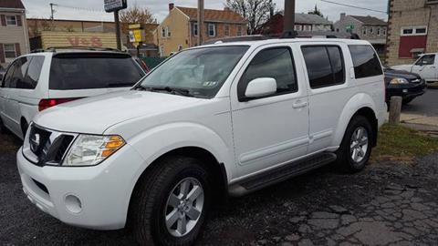 2008 Nissan Pathfinder for sale at Centre City Imports Inc in Reading PA