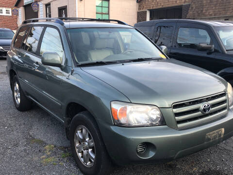2006 Toyota Highlander for sale at Centre City Imports Inc in Reading PA