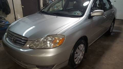 2004 Toyota Corolla for sale at Centre City Imports Inc in Reading PA
