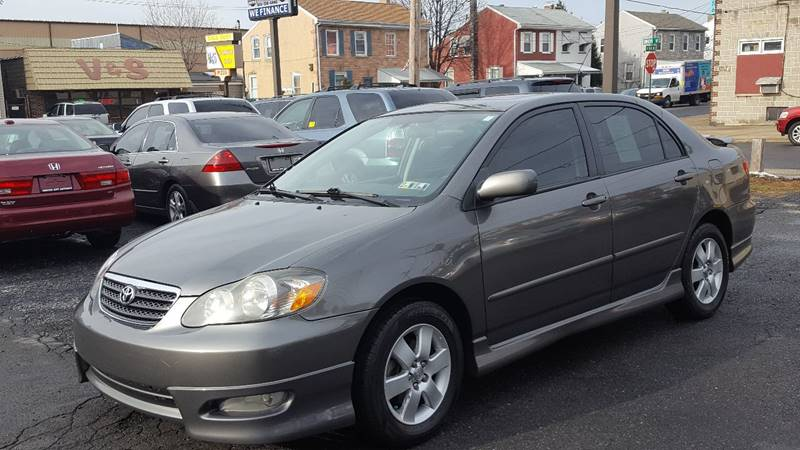 2007 Toyota Corolla for sale at Centre City Imports Inc in Reading PA