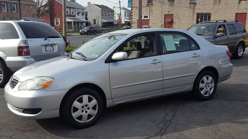 2006 Toyota Corolla for sale at Centre City Imports Inc in Reading PA