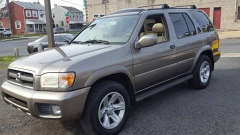 2002 Nissan Pathfinder for sale at Centre City Imports Inc in Reading PA