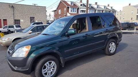 2002 Honda CR-V for sale at Centre City Imports Inc in Reading PA