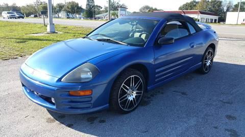 2001 Mitsubishi Eclipse Spyder for sale in Sebring, FL