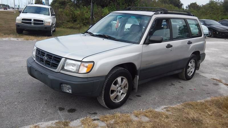 1999 Subaru Forester AWD L 4dr Wagon In Sebring FL