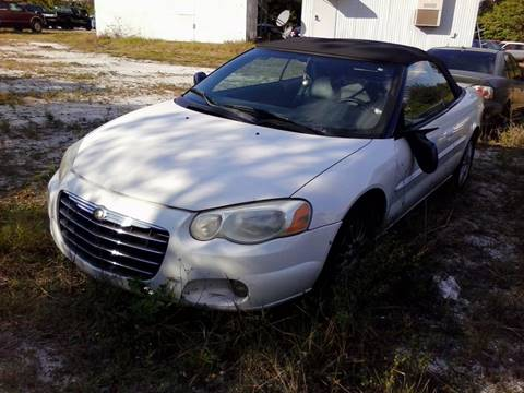 2004 Chrysler Sebring for sale in Sebring, FL