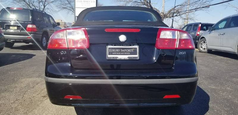 2004 Saab 9-3 2dr Arc Turbo Convertible In Rolling Meadows IL