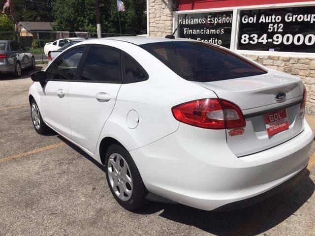 2013 Ford Fiesta S 4dr Sedan - Austin TX