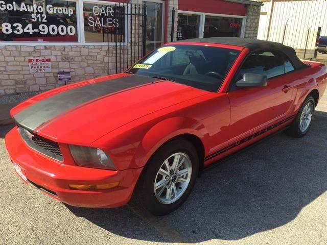 2005 Ford Mustang Deluxe 2dr Convertible - Austin TX