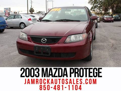 2003 Mazda Protege for sale at Jamrock Auto Sales of Panama City in Panama City FL