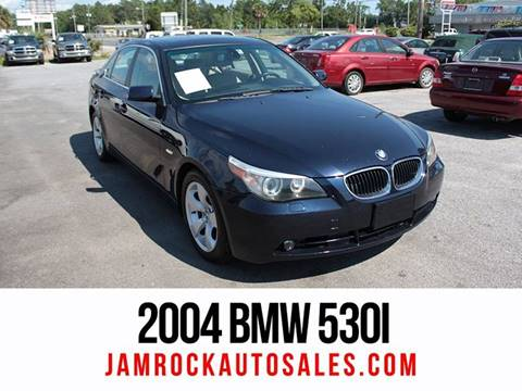 2004 BMW 5 Series for sale at Jamrock Auto Sales of Panama City in Panama City FL