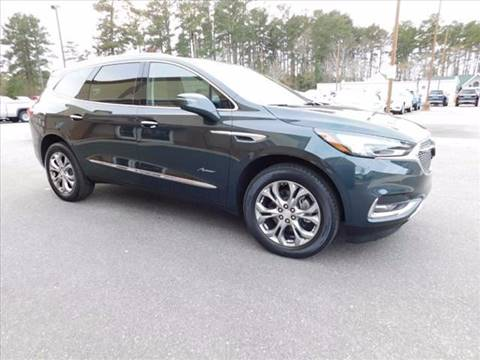 2018 Buick Enclave for sale at Firl Auto Sales in Fond Du Lac WI