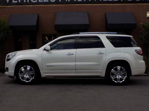2013 GMC Acadia for sale at Firl Auto Sales in Fond Du Lac WI
