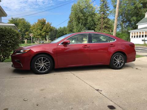 2016 Lexus ES 350 for sale at Firl Auto Sales in Fond Du Lac WI