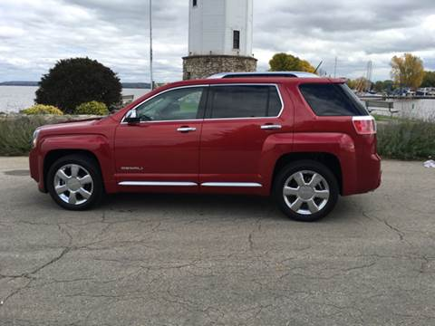 2015 GMC Terrain for sale at Firl Auto Sales in Fond Du Lac WI