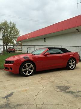 2012 Chevrolet Camaro for sale at Firl Auto Sales in Fond Du Lac WI