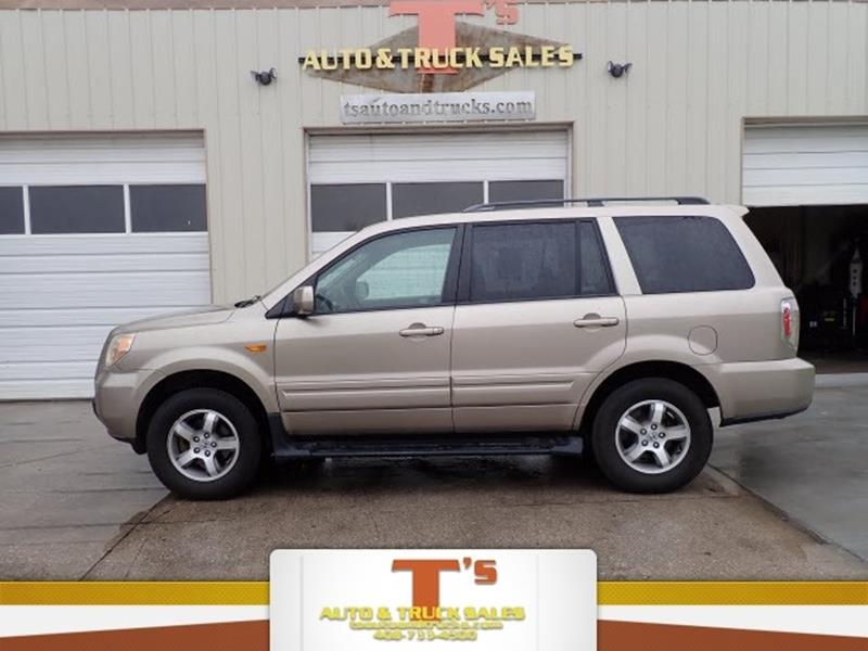 2007 Honda Pilot For Sale At Tu0027s Auto U0026 Truck Sales In ...