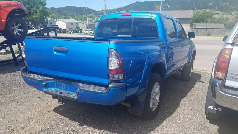 2010 Toyota Tacoma 4x2 PreRunner V6 4dr Double Cab 5.0 ft SB 5A - Rapid City SD