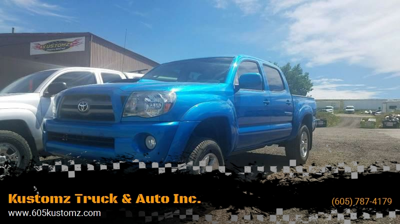 2010 Toyota Tacoma 4x2 PreRunner V6 4dr Double Cab 5.0 Ft SB 5A   Rapid City