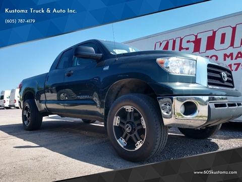 2008 Toyota Tundra for sale at Kustomz Truck & Auto Inc. in Rapid City SD