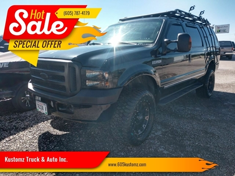 2005 Ford Excursion for sale at Kustomz Truck & Auto Inc. in Rapid City SD