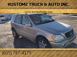 2004 Mercedes-Benz M-Class for sale at Kustomz Truck & Auto Inc. in Rapid City SD