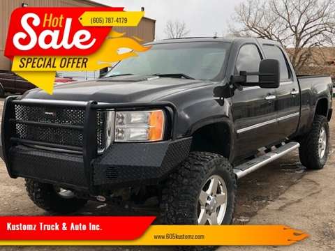 2011 GMC Sierra 2500HD for sale at Kustomz Truck & Auto Inc. in Rapid City SD