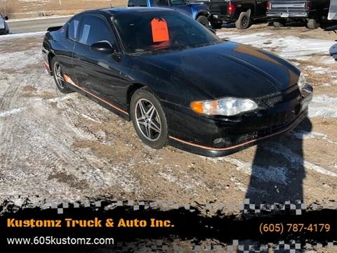 2005 Chevrolet Monte Carlo for sale at Kustomz Truck & Auto Inc. in Rapid City SD
