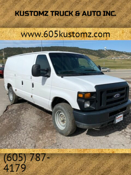 2014 Ford E-Series Cargo for sale at Kustomz Truck & Auto Inc. in Rapid City SD