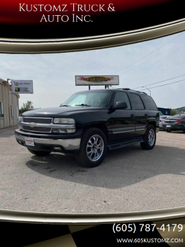 2004 Chevrolet Tahoe for sale at Kustomz Truck & Auto Inc. in Rapid City SD