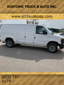 2012 Ford E-Series Cargo for sale at Kustomz Truck & Auto Inc. in Rapid City SD