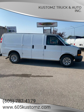 2009 Chevrolet Express Cargo for sale at Kustomz Truck & Auto Inc. in Rapid City SD