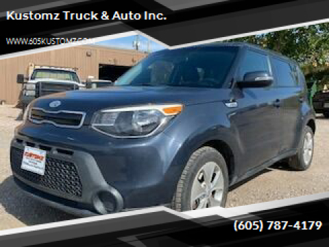 2014 Kia Soul for sale at Kustomz Truck & Auto Inc. in Rapid City SD