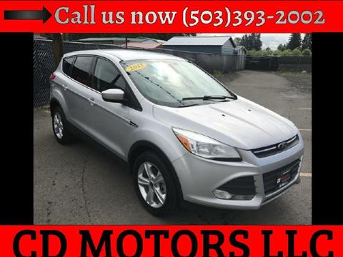 2013 Ford Escape for sale in Brooks, OR