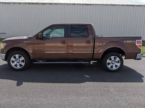 2011 Ford F-150 for sale at TNK Autos in Inman KS