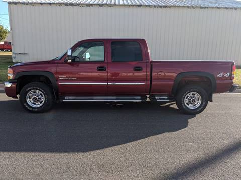 2005 GMC Sierra 2500HD for sale at TNK Autos in Inman KS
