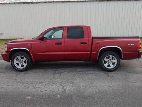 2010 Dodge Dakota for sale at TNK Autos in Inman KS