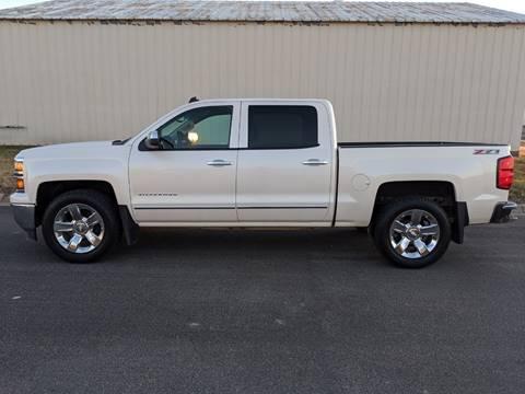 2014 Chevrolet Silverado 1500 for sale at TNK Autos in Inman KS