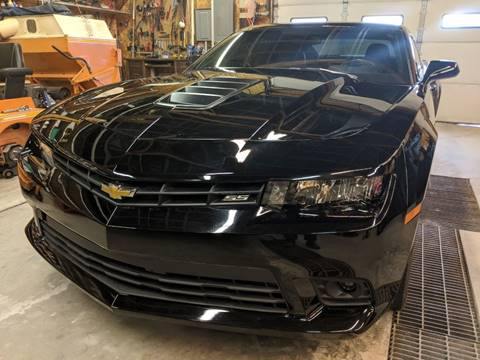 2014 Chevrolet Camaro for sale at TNK Autos in Inman KS