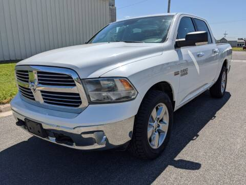 2013 RAM Ram Pickup 1500 for sale at TNK Autos in Inman KS